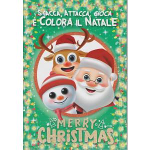 Stacca, attacca, gioca e colora il Natale - n. 12 - novembre 2020