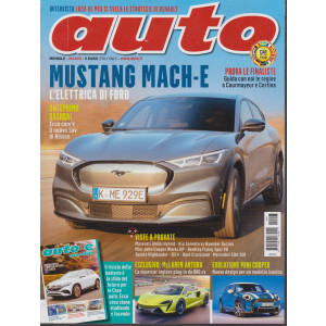 Auto - n. 3 - mensile - marzo 2021