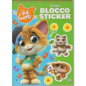 44 Gatti - Il mio blocco sticker - n. 8 - bimestrale -25/4/2021