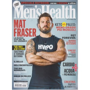 Men's Health - n. 225 - aprile - maggio   2021 - mensile