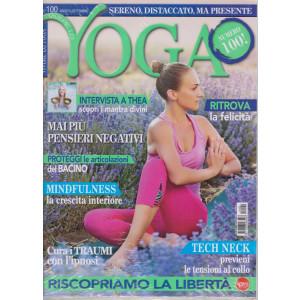 Vivere lo Yoga -    n. 100 - agosto - settembre 2021 - bimestrale - rivista + cd