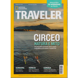 National Geographic  - Traveler -  Primavera 2021 - n. 12 - trimestrale  -3 aprile 2021