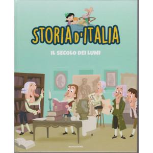 Storia d'Italia -Il secolo dei lumi  - n. 31 -16/3/2021 - settimanale - copertina rigida