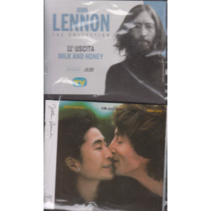 Cd Sorrisi Collezione 2 - n. 10 - John Lennon the collection - undicesima  uscita  - Milk and honey -  16/2/2021 - settimanale