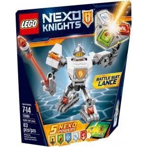 Lego Nexo Knights Lego Nexo Knights N° 15 +  Lance