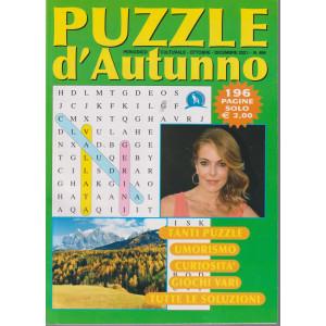 Puzzle d'Autunno - n. 486 - ottobre - dicembre 2021 - 196 pagine