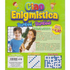 Ciao Enigmistica bambini e bambine - n. 1 -   bimestrale - agosto - settembre 2020