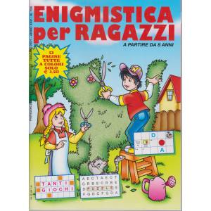Enigmistica per ragazzi - n. 156 - bimestrale - maggio - giugno  2021 - 52 pagine tutte a colori