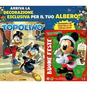 Topolino Libretto Con Allegati - N° 3393 - Topolino Vestito Da Babbo Natale - Panini Comics