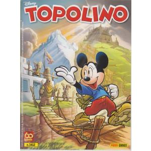 Topolino - n. 3412 - settimanale -14  aprile  2021