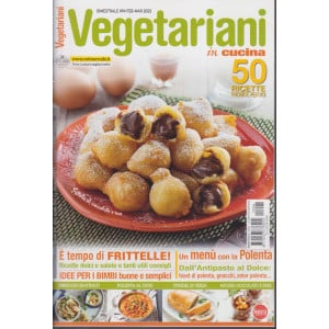 Vegetariani in cucina - n. 94 - febbraio - marzo 2021 - bimestrale