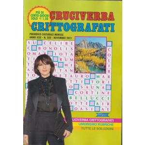 Cruciverba crittografati - n. 330 - mensile -novembre 2021