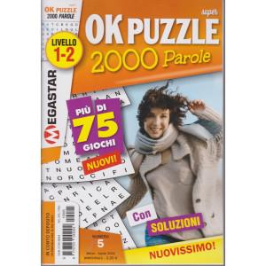 Super Ok Puzzle 2000 - n. 5- livello 1-2 - marzo - aprile  2021- bimestrale