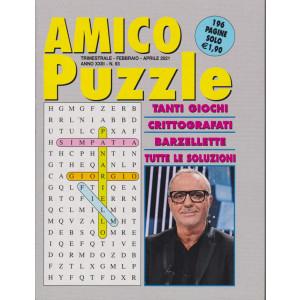 Amico Puzzle - n. 93 - trimestrale - febbraio - aprile 2021 - 196 pagine