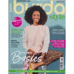 Burda style -  n. 11 - novembre  2021 - mensile  -