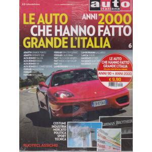 Auto italiana - Le auto anni 2000 che hanno fatto grande l'Italia -+ Le auto anni 90 che hanno fatto grande l'Italia -  2 volumi