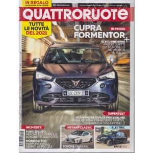 Quattroruote + in regalo un dossier di 96 pagine Novità 2021 n. 785 - gennaio 2021 - mensile - 2 riviste
