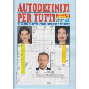 Autodefiniti per tutti - n. 324 - mensile -aprile   2021