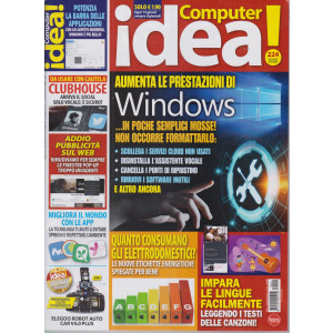 Il mio computer idea! - n. 224 - dal 4 marzo al 17 marzo 2021 - ogni 14 giorni sempre il giovedì
