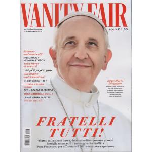 Vanity Fair  - n. 3 - settimanale -20 gennaio 2021