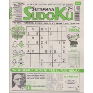 Settimana Sudoku - n. 804 - settimanale -8 gennaio 2021