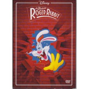 I dvd di Sorrisi 4 n. 25  -Chi ha incastrato Roger Rabbit -  settimanale -maggio  2021