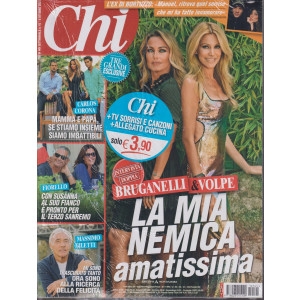 Chi + TV Sorrisi e Canzoni + allegato cucina - n. 41 - settimanale -6 ottobre  2021 - 3 riviste
