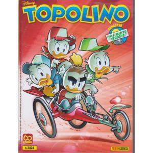 Topolino - n. 3424- settimanale -luglio 2021
