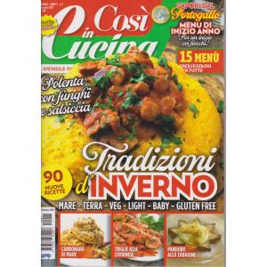 Cosi' in cucina - n. 1 - mensile - gennaio 2021