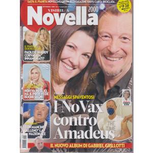 Novella 2000  - + Visto - n. 26 - settimanale -17 giugno 2021  - 2 riviste