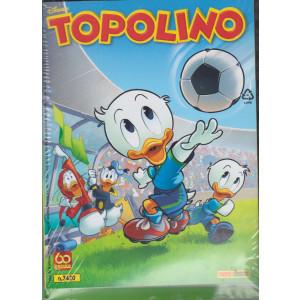 Topolino + Impara il calcio con Topolino - n. 3420 - 9 giugno 2021 - settimanale - 2 riviste