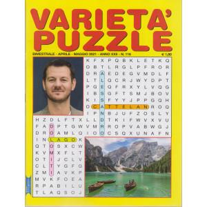 Varieta' Puzzle - n. 116 - Alessandro Cattelan -  bimestrale - aprile - maggio 2021 -