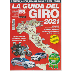 Suppl.Bicisport - n. 5 - La guida del Giro 2021 - maggio 2021