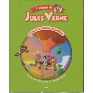 I viaggi di Jules Verne - Cinque settimane in pallone - Una spedizione straordinaria - n. 14  - settimanale - 18/12/2020 - copertina rigida