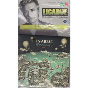 Cd Sorrisi Collezione 2 - n. 31- Ligabue  -18° cd -Giro del mondo - agosto 2021  - settimanale - formato maxi digipack +2 cd -  libretto inedto