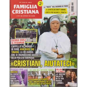 Famiglia Cristiana - n-16- settimanale - 18 aprile   2021