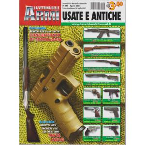 La vetrina delle armi usate e antiche - n. 195 - agosto  2021 - mensile