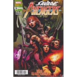 Avengers – Savage - n. 15 -Verso la battaglia-  mensile - 25 febbraio 2021 -