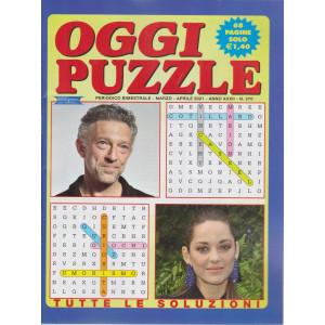 Oggi Puzzle - n. 270- bimestrale  - marzo - aprile 2021 - 68 pagine