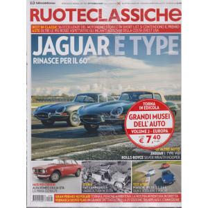 Ruoteclassiche +Musei dell'auto Europa- n. 394 - ottobre 2021- mensile - 2 riviste