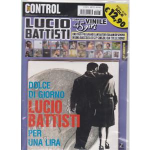Saifam Music Control Var 06 - Lucio Battisti - Dolce di giorno - Per una lira - rivista +formato vinile  45 giri - n. 3 - giugno - luglio 2021 - bimestrale