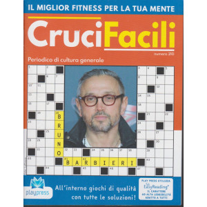 Crucifacili - n. 210 - Bruno Barbieri - bimestrale - 16/2/2021