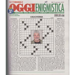 Oggi enigmistica - n. 1- 5 gennaio 2021- settimanale