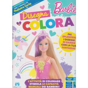 Barbie disegna e colora - n. 2 - maggio - giugno 2021 - bimestrale