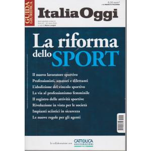 Guida fiscale - Italia Oggi - n. 6 - La riforma dello sport- 22 marzo 2021 -