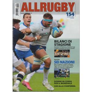 All Rugby - n. 154 - gennaio 2021 - mensile