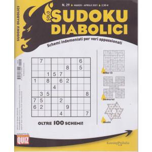 Solo sudoku diabolici - n. 29 - marzo - aprile  2021- trimestrale