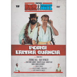 I Dvd di Sorrisi Speciale - n. 17 - I mitici Bud Spencer & Terence Hill  -diciassettesima   uscita  - Porgi l'altra guancia - maggio 2021  -