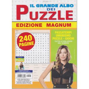 Il Grande Albo dei puzzle - Edizione magnum - n. 7- trimestrale  -giugno/luglio/agosto/2021 - 240 pagine
