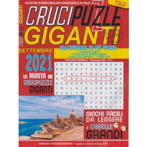 Crucipuzzle giganti - n. 2 - mensile - 2/9/2021